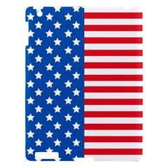 Usa Flag Apple Ipad 3/4 Hardshell Case by stockimagefolio1