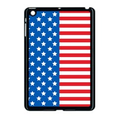 Usa Flag Apple Ipad Mini Case (black) by stockimagefolio1