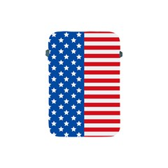 Usa Flag Apple Ipad Mini Protective Soft Cases by stockimagefolio1
