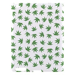 Marijuana Pattern Apple Ipad 3/4 Hardshell Case by stockimagefolio1