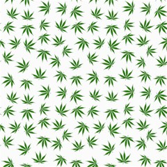 Marijuana Pattern Canvas 16  X 16   by stockimagefolio1