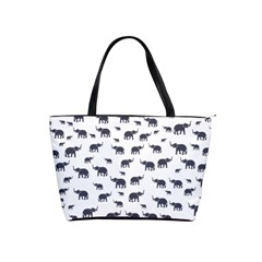 Elephant Pattern Shoulder Handbags by stockimagefolio1