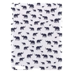 Elephant Pattern Apple Ipad 3/4 Hardshell Case by stockimagefolio1