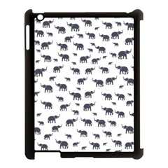 Elephant Pattern Apple Ipad 3/4 Case (black) by stockimagefolio1