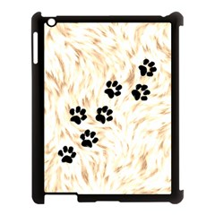 Paws Apple Ipad 3/4 Case (black) by stockimagefolio1