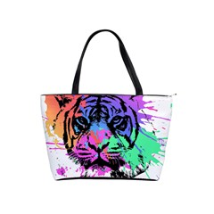 Tiger Shoulder Handbags by stockimagefolio1