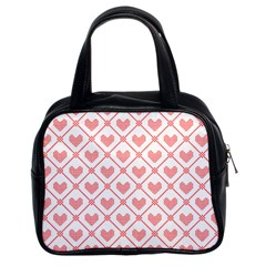 Heart Pattern Classic Handbags (2 Sides) by stockimagefolio1
