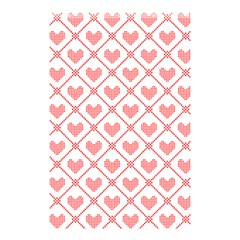 Heart Pattern Shower Curtain 48  X 72  (small)  by stockimagefolio1
