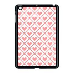Heart Pattern Apple Ipad Mini Case (black) by stockimagefolio1