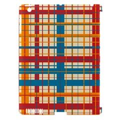 Plaid Pattern Apple Ipad 3/4 Hardshell Case (compatible With Smart Cover) by linceazul