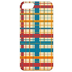 Plaid Pattern Apple Iphone 5 Classic Hardshell Case by linceazul