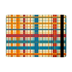 Plaid Pattern Apple Ipad Mini Flip Case by linceazul