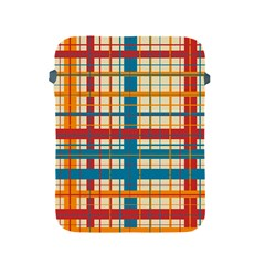 Plaid Pattern Apple Ipad 2/3/4 Protective Soft Cases by linceazul