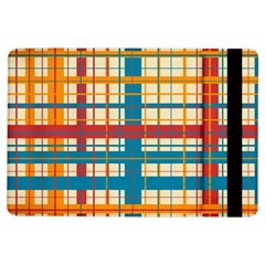 Plaid Pattern Ipad Air Flip by linceazul