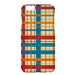 Plaid Pattern Apple Iphone 6 Plus/6s Plus Hardshell Case by linceazul