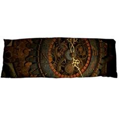 Steampunk, Awesoeme Clock, Rusty Metal Body Pillow Case Dakimakura (two Sides) by FantasyWorld7