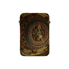 Steampunk, Awesoeme Clock, Rusty Metal Apple Ipad Mini Protective Soft Cases by FantasyWorld7