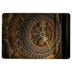 Steampunk, Awesoeme Clock, Rusty Metal Ipad Air 2 Flip by FantasyWorld7