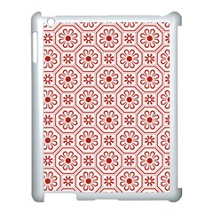 Flower Seamless Pattern Apple Ipad 3/4 Case (white) by stockimagefolio1