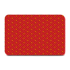 Flower Pattern Plate Mats by stockimagefolio1