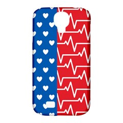 Usa Flag Samsung Galaxy S4 Classic Hardshell Case (pc+silicone) by stockimagefolio1