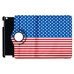 Usa Flag Apple Ipad 3/4 Flip 360 Case by stockimagefolio1