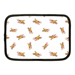Crabs Photo Collage Pattern Design Netbook Case (medium)  by dflcprints