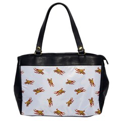 Crabs Photo Collage Pattern Design Office Handbags by dflcprints