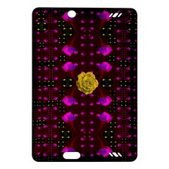 Roses In The Air For Happy Feelings Amazon Kindle Fire Hd (2013) Hardshell Case by pepitasart