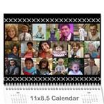 kleinerman calendar - Wall Calendar 11  x 8.5  (12-Months)
