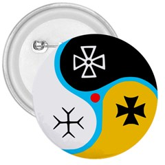 Assianism Symbol 3  Buttons by abbeyz71