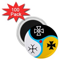 Assianism Symbol 1 75  Magnets (100 Pack)  by abbeyz71