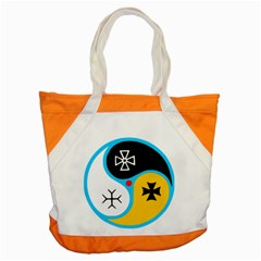 Assianism Symbol Accent Tote Bag by abbeyz71