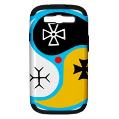 Assianism Symbol Samsung Galaxy S Iii Hardshell Case (pc+silicone) by abbeyz71