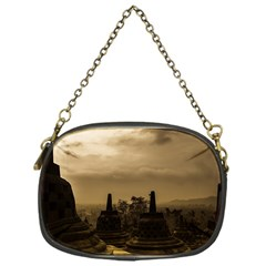 Borobudur Temple Indonesia Chain Purses (one Side)  by Nexatart