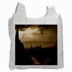 Borobudur Temple Indonesia Recycle Bag (two Side)