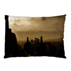Borobudur Temple Indonesia Pillow Case (two Sides)
