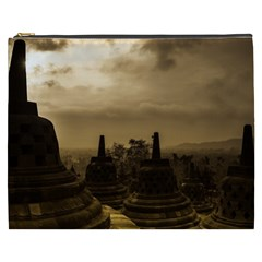 Borobudur Temple Indonesia Cosmetic Bag (xxxl)