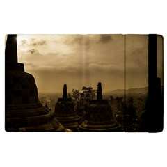 Borobudur Temple Indonesia Apple Ipad 3/4 Flip Case by Nexatart