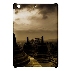 Borobudur Temple Indonesia Apple Ipad Mini Hardshell Case by Nexatart