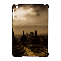 Borobudur Temple Indonesia Apple Ipad Mini Hardshell Case (compatible With Smart Cover) by Nexatart