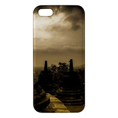 Borobudur Temple Indonesia Iphone 5s/ Se Premium Hardshell Case by Nexatart