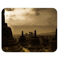 Borobudur Temple Indonesia Double Sided Flano Blanket (medium)  by Nexatart