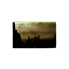 Borobudur Temple Indonesia Cosmetic Bag (xs) by Nexatart
