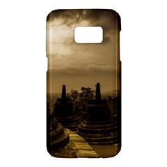 Borobudur Temple Indonesia Samsung Galaxy S7 Hardshell Case