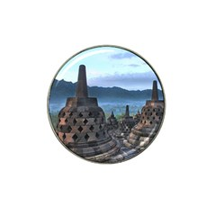 Borobudur Temple  Morning Serenade Hat Clip Ball Marker (10 Pack)