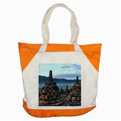 Borobudur Temple  Morning Serenade Accent Tote Bag