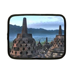 Borobudur Temple  Morning Serenade Netbook Case (small)  by Nexatart
