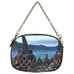 Borobudur Temple  Morning Serenade Chain Purses (two Sides)  by Nexatart
