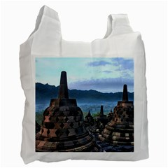 Borobudur Temple  Morning Serenade Recycle Bag (two Side)